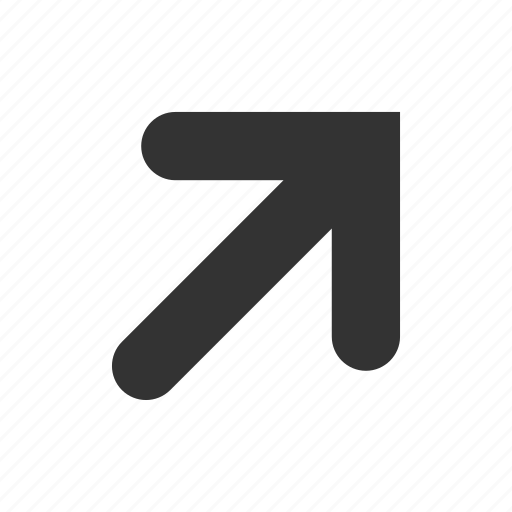 arrow, arrows, direction, right, top, up icon