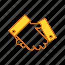 deal, handshake, meeting, understanding icon