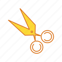 barbar, cut, hair cut, scissor icon