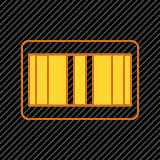 bar, bar code, code, scan icon