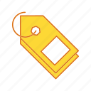 percentage, price, retail, tag icon