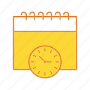 calendar, event, time, timer icon