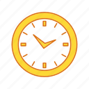 clock, home clock, time icon