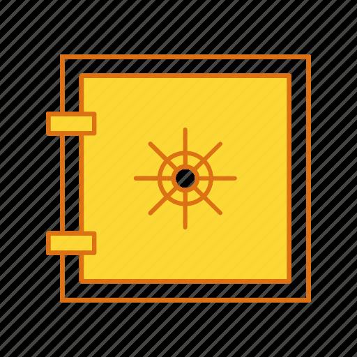 lock, locker, safe, vault icon