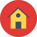 apartment, estate, home, house, villa icon