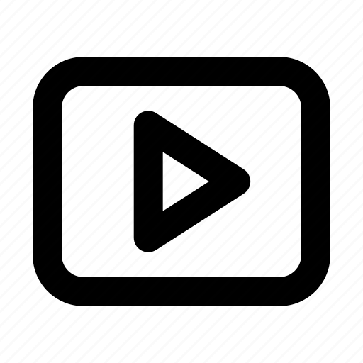 media, movie, play, player, video icon