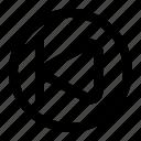 backwards, skip, skip backwards, ui icon