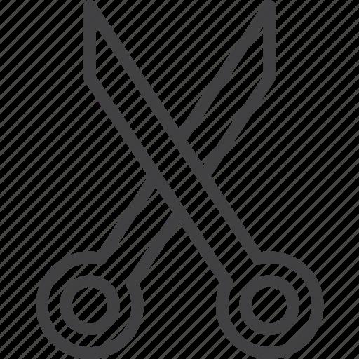 barber, cut, scissors icon