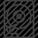 disk, drive, hard, hdd, storage