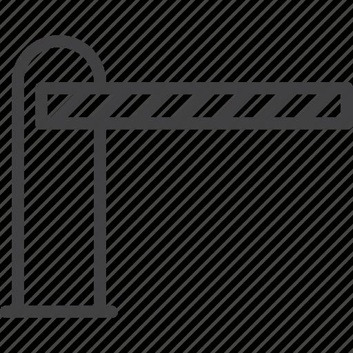 Картинка знак шлагбаум