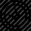 radar, visual, technology, circle, monitor
