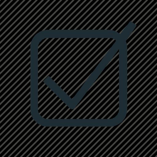 check, checklist icon