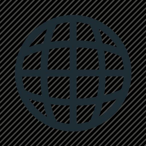 Browser, globe, internet, web, world icon - Download on Iconfinder