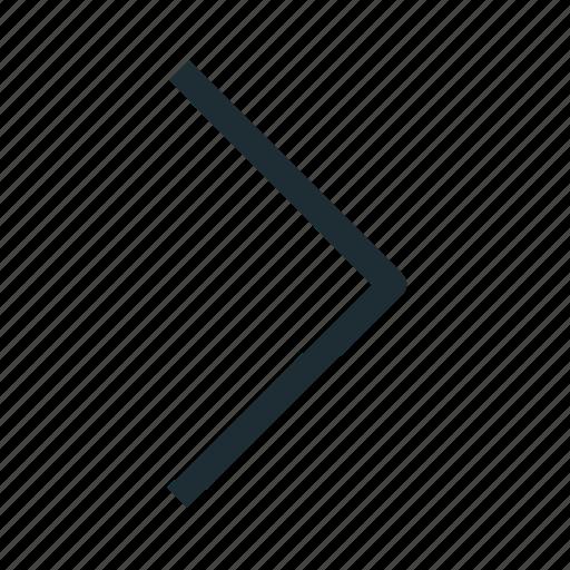 arrow, forward, interface, right icon