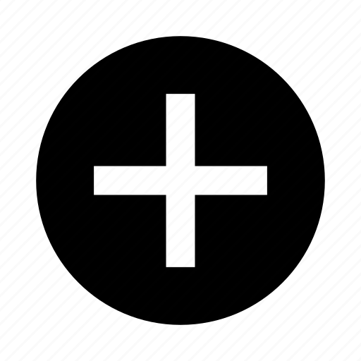 add, addition, increase, new icon