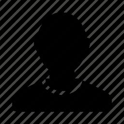 boy, look, man, profile icon