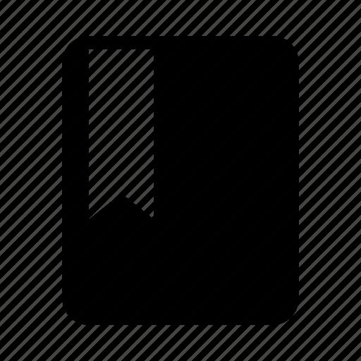 bookmark, document, favourite, file, pin icon