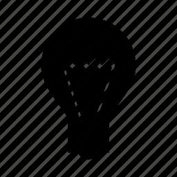 brain, bulb, idea, innovation, light icon