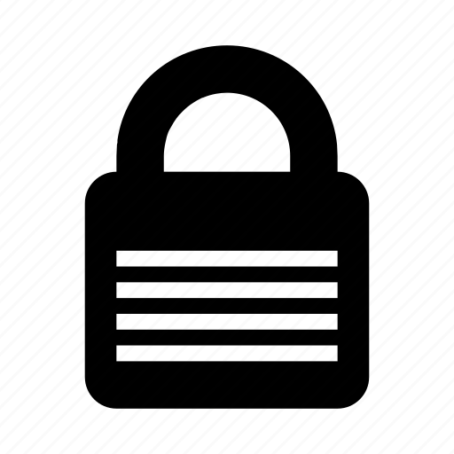 lock, password, secure, security icon