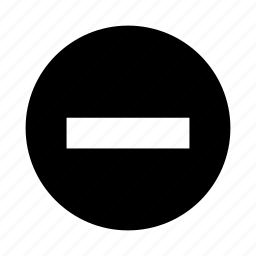 clean, clear, decrese, minus, remove icon