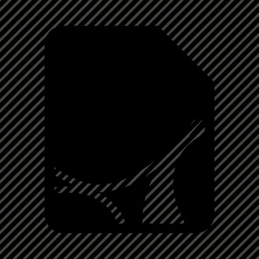 document, file, pdf icon