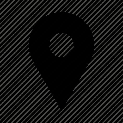 location, map, pin, pushpin icon