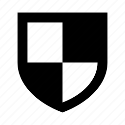 risk, secure, security, shield icon