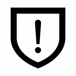 confusion, question, risk, secure, security, shield, warning icon