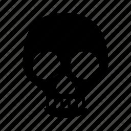 acid, danger, skeleton, skull, warning icon