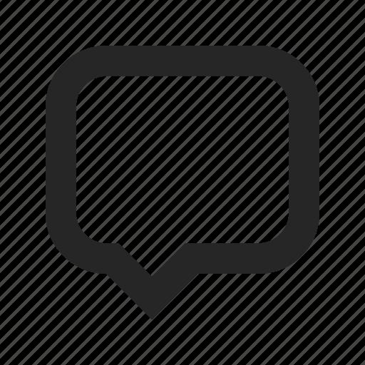 bubble, comment, communication, dialogue, message, speech, talk icon