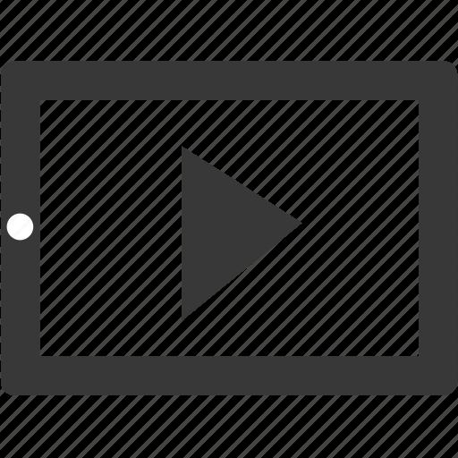 audio, control, ipad, media, multimedia, music, play icon
