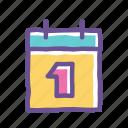 agenda, calendar, date, deadline, event, plan, reminder icon