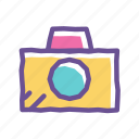 camera, image, media, multimedia, photo, picture, snapshot icon