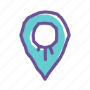 gps, location, map, marker, navigation, pointer, travel icon