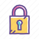 encryption, key, lock, password, privacy, safety, security icon