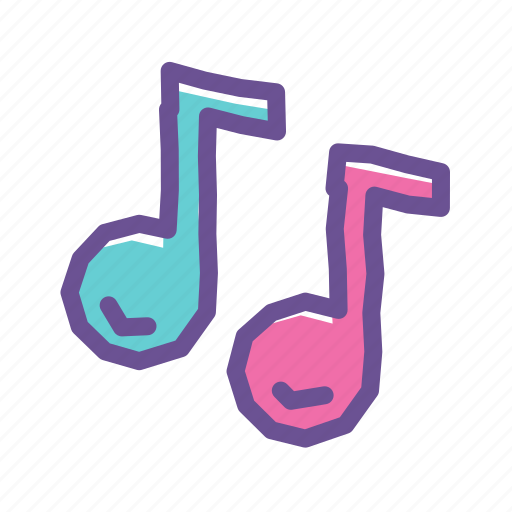 media, melody, multimedia, music, musical, note, sound icon