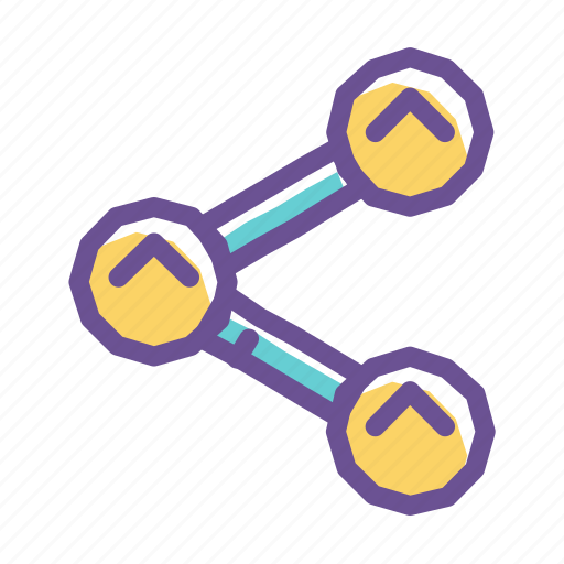 connection, global, link, network, share, social, web icon