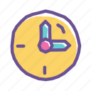 alarm, clockwise, deadline, hour, time, timer, watch icon