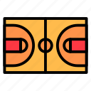 basketball, court, field, game, spor icon
