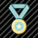 basketball, icon set, medali, sport icon