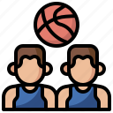 basketball, game, planning, player, players, position, team icon