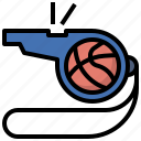 baskesball, compet, game, referee, sports, whistle, whistles icon