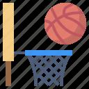 ball, basket, basketball, clock, hoop, player, shoot