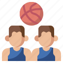 basketball, game, people, planning, player, position, team icon