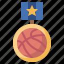 award, champion, coin, medal, sport, winner icon
