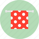 bath, hanger, hotel, service, shower, towel icon