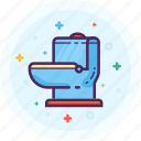 bathroom, crapper, poop, toilet, unitas, wc icon