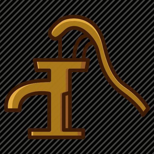 bathroom, clean, home, pump, water, water pump icon