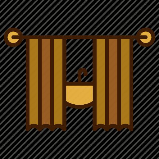 bathroom, clean, curtain, curtains, home, jakuzzi icon