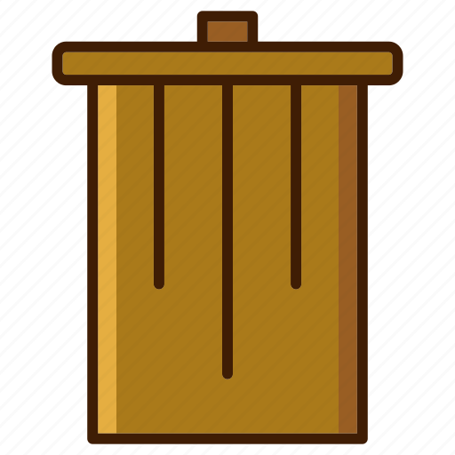bathroom, bin, clean, delete, home, recycle, transh icon